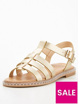 v-by-very-girls-gladiator-sandal-gold