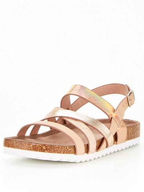 v-by-very-girls-strappy-footbed-sandal-pink