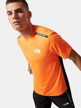 the-north-face-mountain-athletics-t-shirt-orange