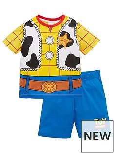 toy-story-boys-disneynbspwoody-novelty-shorty-pyjamas-brown