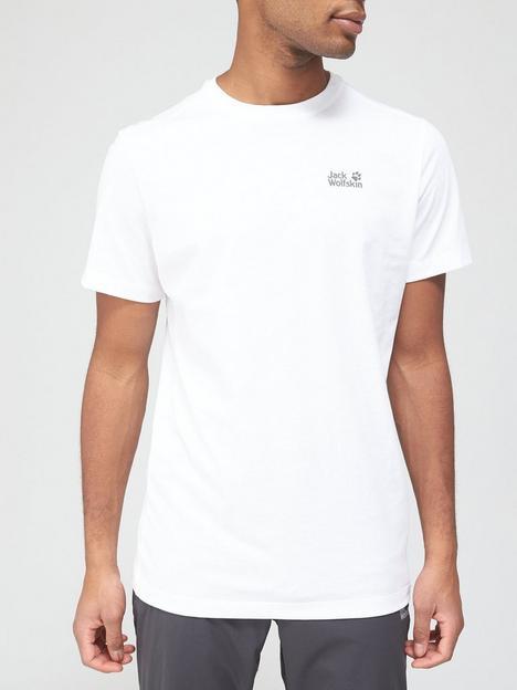 jack-wolfskin-essential-t-shirt-white