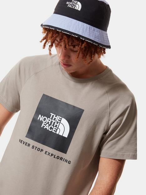 the-north-face-raglan-red-box-t-shirt-grey