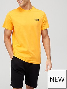 the-north-face-simple-dome-t-shirt-orange