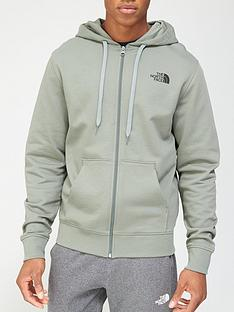 the-north-face-open-gate-full-zip-light-hoodie-green