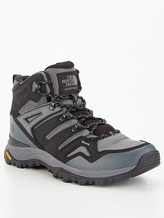 the-north-face-hedgehog-mid-top-hiking-boots-grey