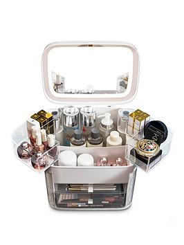Rio Ultimate Beauty Storage Box With Dimmable Mirror