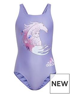 adidas-younger-girlsnbspfrozen-swimsuit-purple