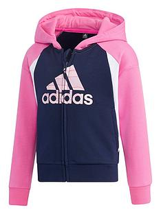 adidas-girls-younger-full-zip-hoodie-pink