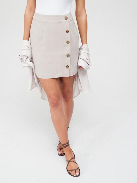 v-by-very-linen-button-through-mini-skirt-neutralnbsp
