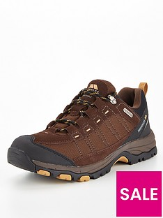 trespass-scarp-low-walking-trainers-dark-brown