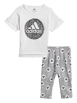 adidas-girls-infantnbsptights-set-whiteblack