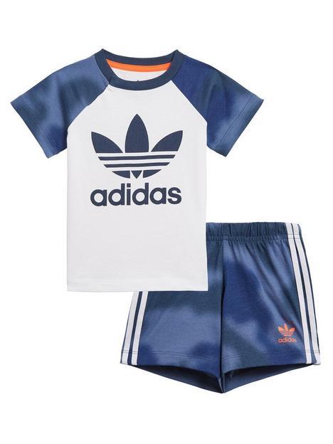 adidas-originals-boys-infant-shorts-amp-t-shirt-set-whiteblue