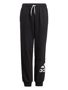adidas-boys-junior-b-bl-ftnbspcuffed-pant-blackwhite