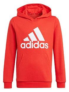 adidas-boys-junior-b-bl-hoodie-red