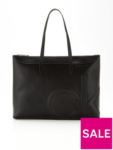 calvin-klein-tonal-logo-shopper-bag-black