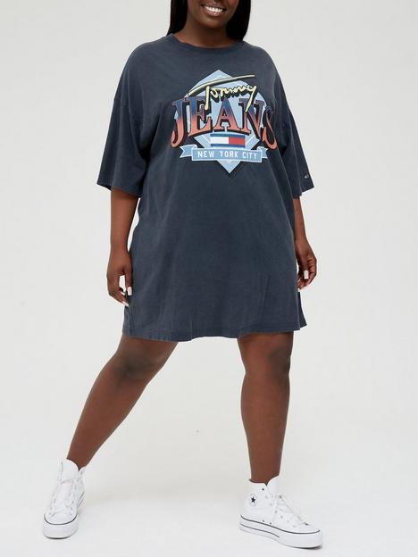tommy-jeans-plus-vintage-t-shirt-dress-blacknbsp