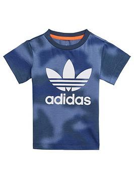 adidas-originals-boys-infant-short-sleeve-t-shirt-bluewhite