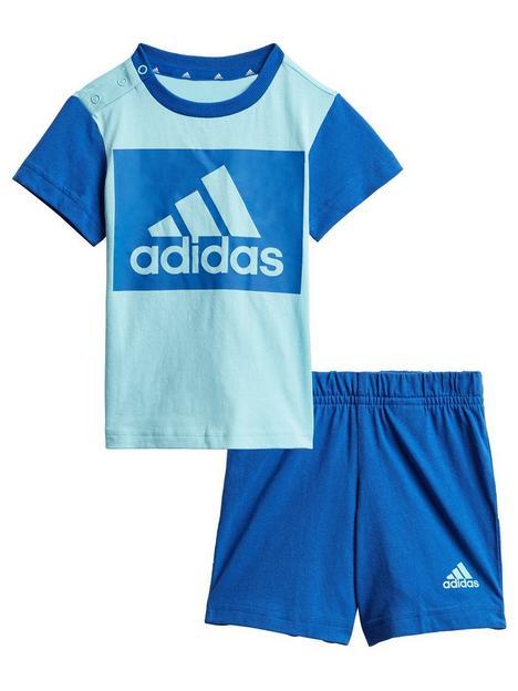 adidas-unisex-infant-t-shirt-amp-shorts-set-blue
