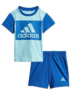 adidas-unisex-infant-t-shirt-amp-shorts-set-blue