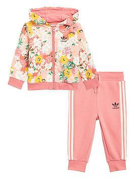 adidas-originals-girls-infant-hoodie-set-pinkmulti