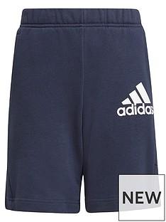 adidas-boys-junior-badge-of-sport-short-navynbsp