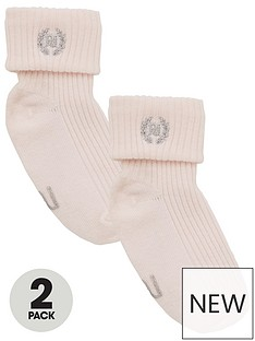 river-island-baby-core-2-pack-sock-pink