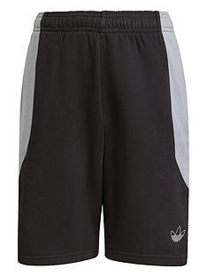 adidas-originals-unisex-junior-shorts-blackgrey
