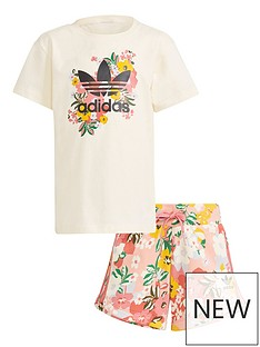 adidas-originals-girls-younger-t-shirt-and-shorts-setnbsp--white