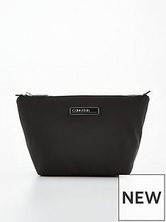 calvin-klein-nylon-wash-bag-black