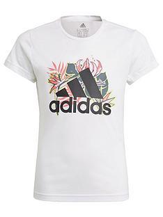 adidas-girls-junior-g-up2mv-t-shirt-white