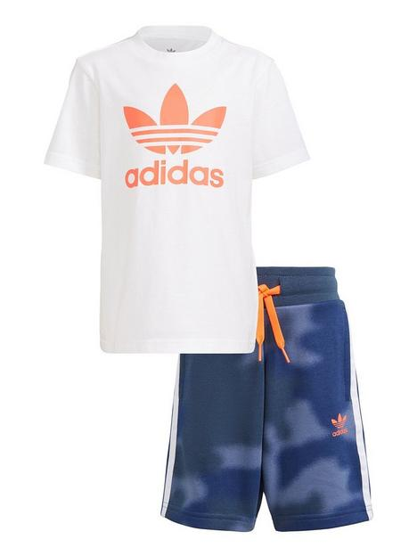 adidas-originals-boys-younger-shorts-and-t-shirtnbspset-whitered