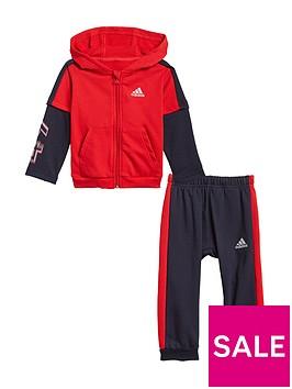 adidas-boys-infant-i-bold-49-set-redblack