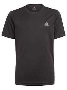 adidas-boys-juniornbspshort-sleeve-t-shirt-black