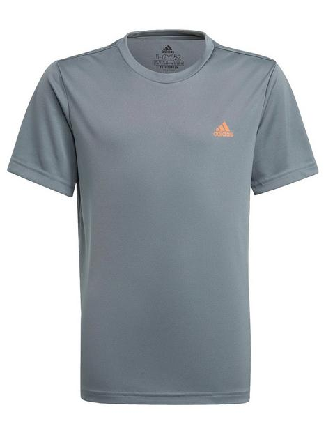 adidas-boys-junior-t-shirt-blueorange