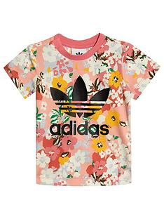 adidas-originals-girls-infant-short-sleeve-t-shirtnbsp--pink