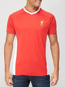 Liverpool Fc Source Lab Liverpool Fc Mens Poly T-Shirt - Red