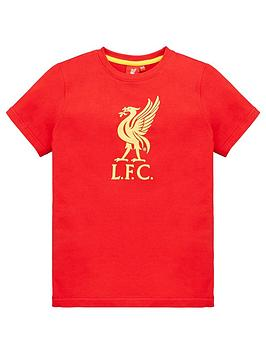 Liverpool Fc Source Lab Liverpool Fc Junior Graphic T-Shirt, Red, Size 2-3 Years