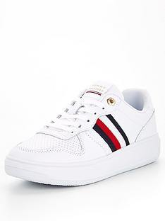 tommy-hilfiger-tape-leather-cupsole-trainers-white