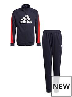 adidas-boys-junior-badge-of-sport-cotton-tracksuit-multi