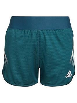 adidas-girls-junior-g-ar-3nbspstripe-shorts-teal