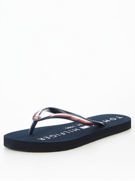 tommy-hilfiger-glossy-beach-flip-flop-black