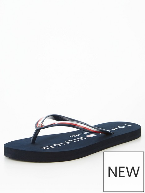 tommy-hilfiger-glossy-beach-sandal-navy