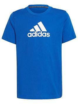 adidas-junior-boys-badge-of-sport-shirt-sleeve-t-shirt-bluewhite