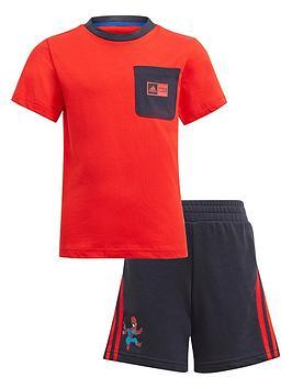 adidas-boys-younger-sum-joggernbsp--redblack