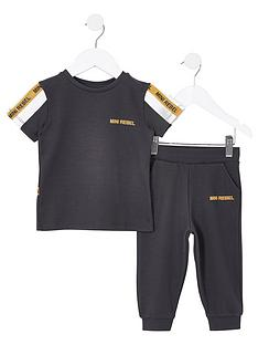 river-island-mini-boys-t-shirt-and-jog-pants-setnbsp--dark-grey