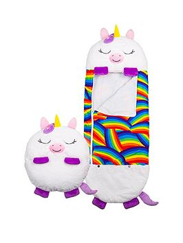 happy-nappers-white-unicorn-sleeping-bag--nbsplarge