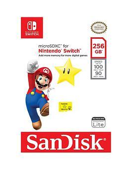 Sandisk Nintendo Switch 256Gb Sd
