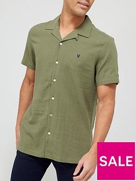 very-man-plain-linen-shirt-green