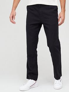 very-man-slim-fitnbsplinen-trousers-black