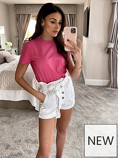 michelle-keegan-short-sleeve-cotton-tee-soft-pink